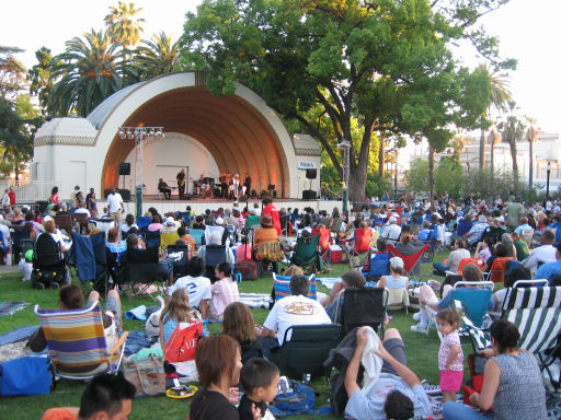 The Levitt offers a Great Atmosphere for Fun and Music