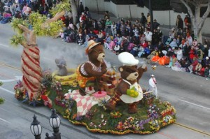 All eyes are on Pasadena and the Rose Bowl Parade