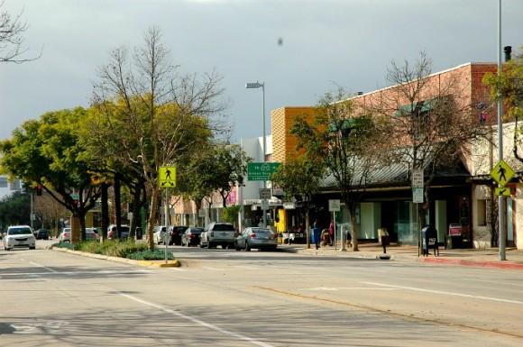 South Lake Avenue in Pasadena